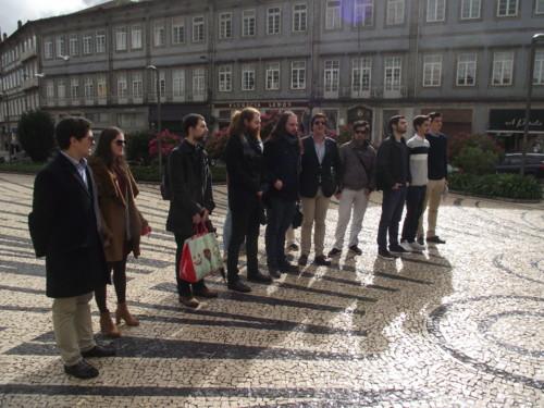 Jovens Monárquicos do Porto no Centenário de La Lys