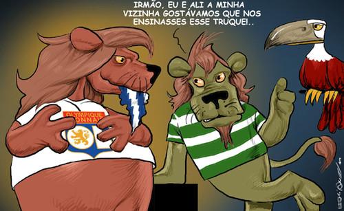 Lyon vence Porto