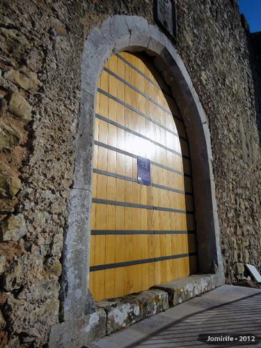 Castelo de Pombal - Nova porta