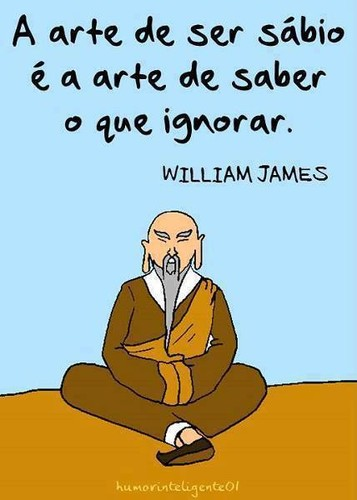 Frases De William James No Facebook A Arte De Ser Sábio é