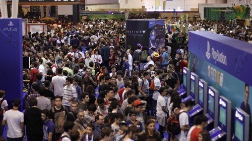 Foto do recinto da Lisboa Games Week