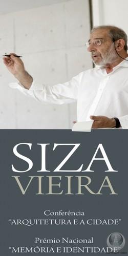 Siza Vieira, hoje às 11 horas nos Paços do Concelho...