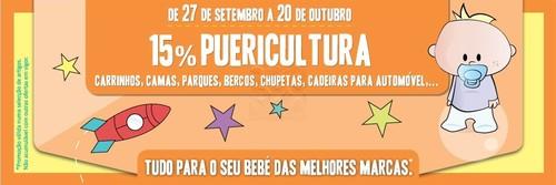 15% em Puericultura de 27 a 30 Setembro no El Corte Inglês
