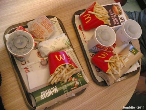 McWrap no McDonalds