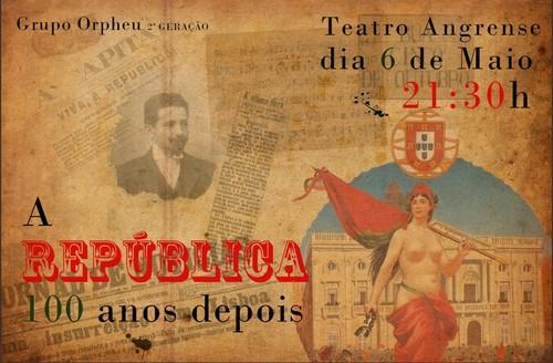 Hoje à noite, no Teatro Angrense...