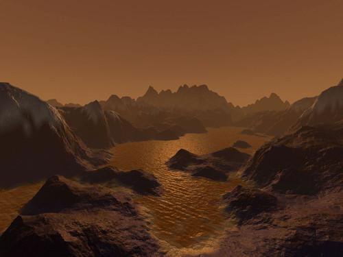 Superfície de Titã