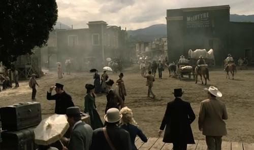 Cena da série Westworld