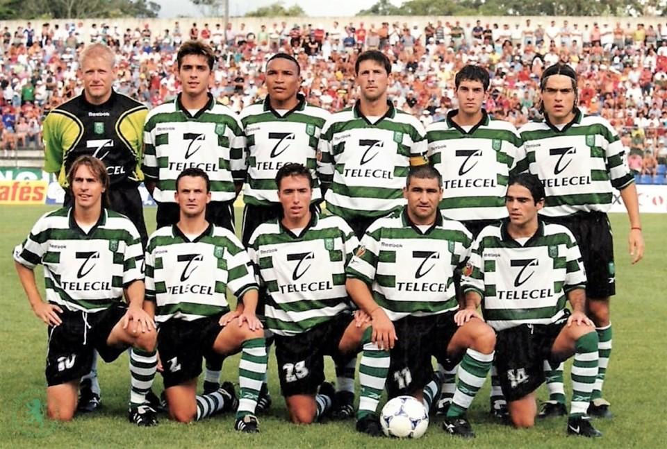SCP 1999-00 jogo Santa Clara 2 Sporting 2 CN 1ª j
