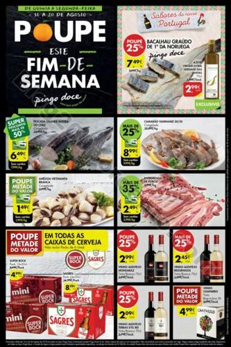 Antevisao Folheto PINGO DOCE Fim de semana 16 a 20