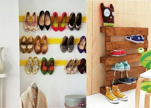 ideias criativas para decoracao de interiores : ideias criativas para decoracao de interiores:Ideias criativas – Organizar calçado – Decoração e Ideias