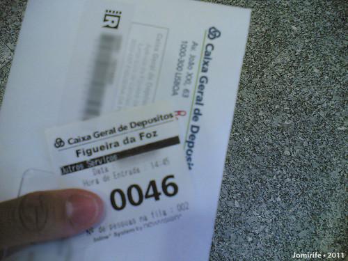 Na CGD à espera da vez