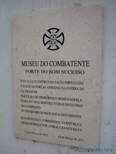 Lisboa - Museu do Combatente - Forte do Bom Sucesso [en] Lisbon - Combatant Museum - Fort of the Good Success