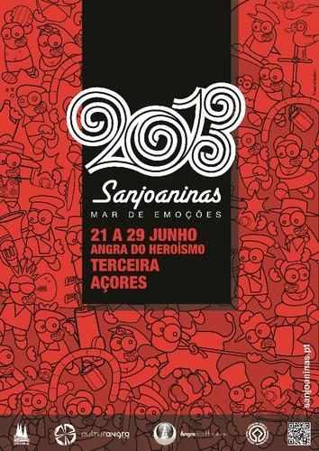 O cartaz das Sanjoaninas do próximo ano...