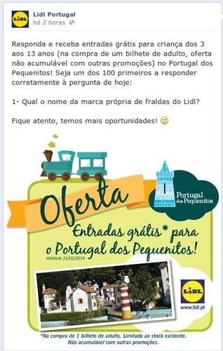 Passatempo   LIDL   Portugal dos Pequeninos