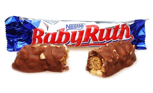 Baby Ruth. Himself...