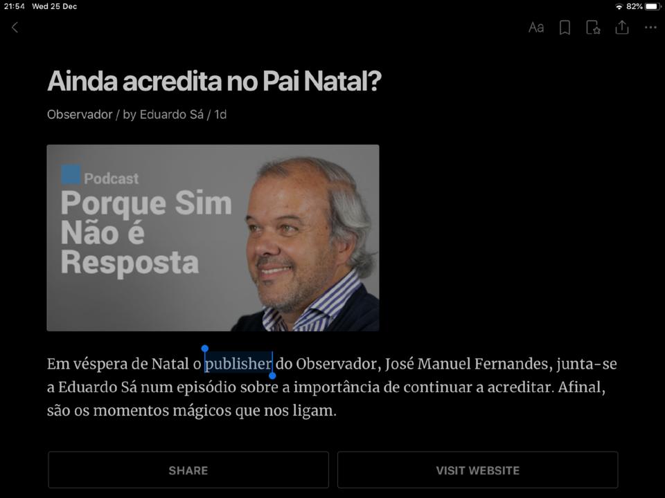 O publixeiro no pó de casta ou como se fala português em 2019.