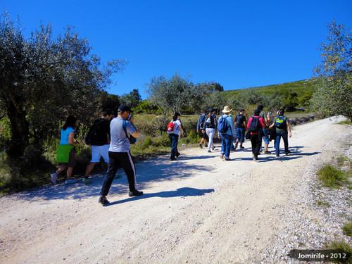 Serra de Sicó - Grupo a caminho