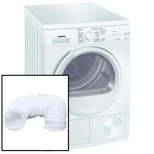 Máquina secar roupa por exaustão