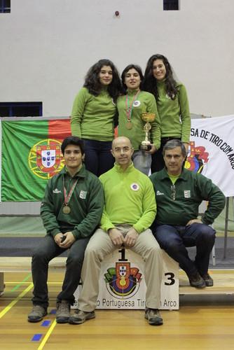 Equipa GDA que competiu no Camp. Nac. Sala 2012/13