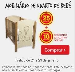 Mobiliário de Bebé | CONTINENTE | 25%+10% ( Online )
