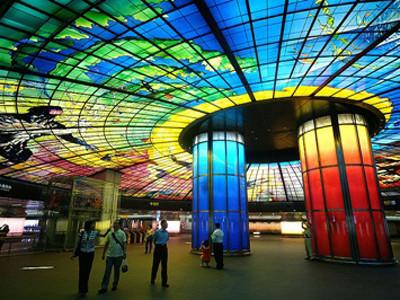 Arquitectura nas estações do  metro