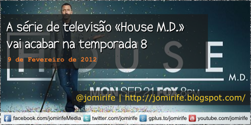 Blog: A série de TV House M.D. vai terminar