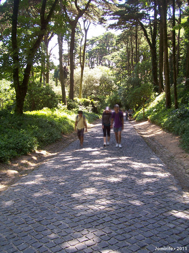 Sintra: Pena/Mouros - Subida a pé