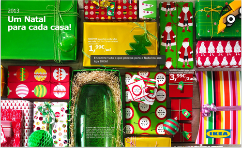Catalogo de Natal IKEA, até 30 Junho 2014