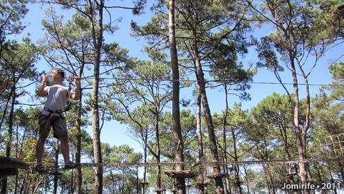Parque Aventura: Caminhar pela rede