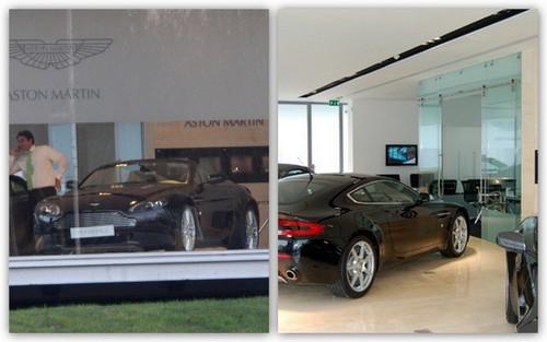 Stand Aston Martin Porto