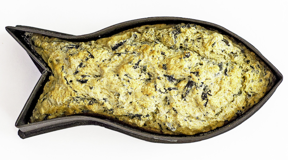Beer bread with 'nori' (Porphyra sp.).png