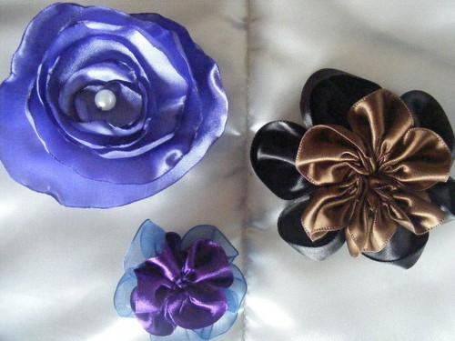 Flores de tecido...