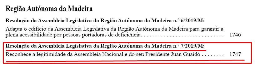 D.R., I Série, 27/4/2019
