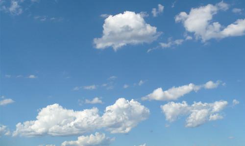 O céu, pois o céu...