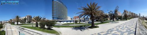 Avenida Buarcos-Figueira da Foz junto da praia