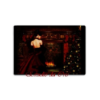 Christmas In Red-Laptop Skin 1610 screen