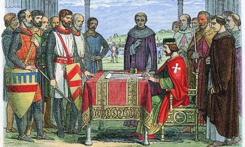 Assinatura da Magna Carta