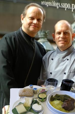 Comida na Air France com o chef Joel Robuchon