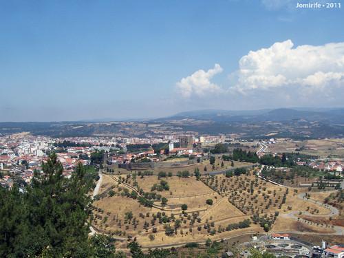 Castelo de Bragança: Lá no topo do monte