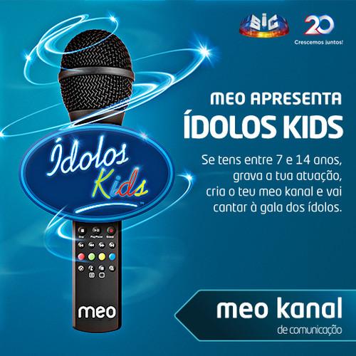 Ídolos Kids – MEO e SIC abrem a porta à realização de um sonho