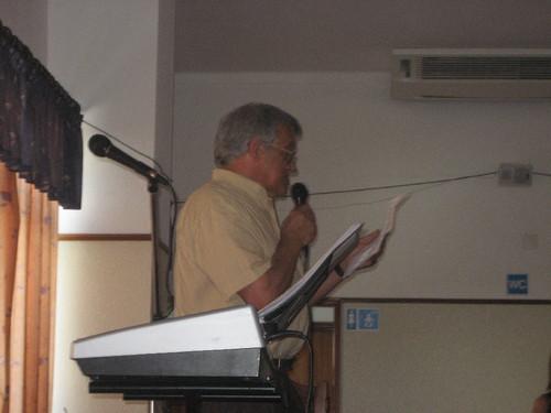 Fernando Natividade, o grande dinamizador do Encontro
