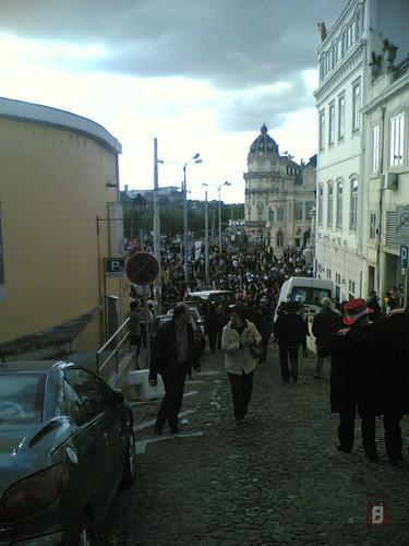 Queima das Fitas Coimbra 2010 - Estudantes no Larg