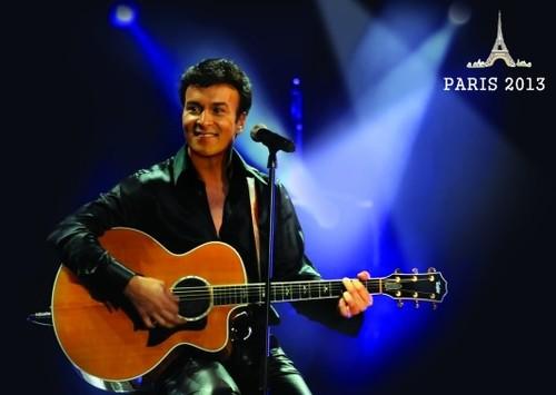 Concertos Tony Carreira em Março 2013 em Paris-França