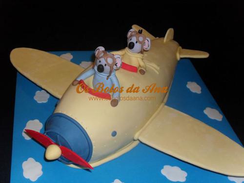 Bolo Aviao dos Irmaos Koala