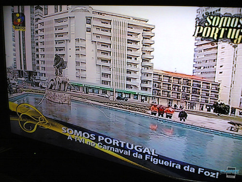 TVI no Carnaval da Figueira da Foz
