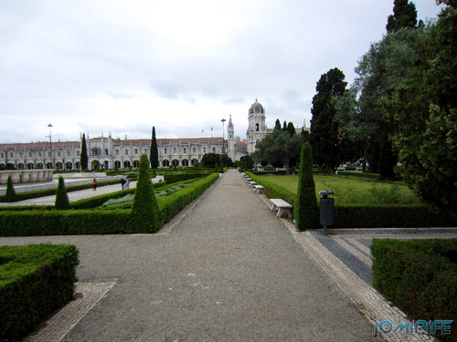 Lisboa - Jardim da Praça do Império (1) Caminhos [en] Lisbon - Empire Square Garden - Paths