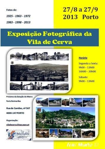 I Exposição Fotográfica de Cerva