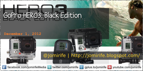 Blog Post: GoPro HERO3: Black Edition