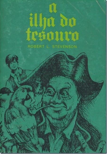 Robert L. Stevenson, «A Ilha do Tesouro», [s.n.], Queluz, D.L. 1972