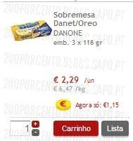 Acumulação Super-Preço + 25% | CONTINENTE | Danone